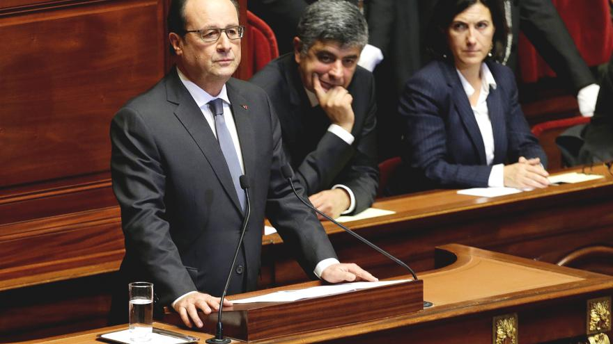 Video Hollande: Francie je ve válce s terorismem