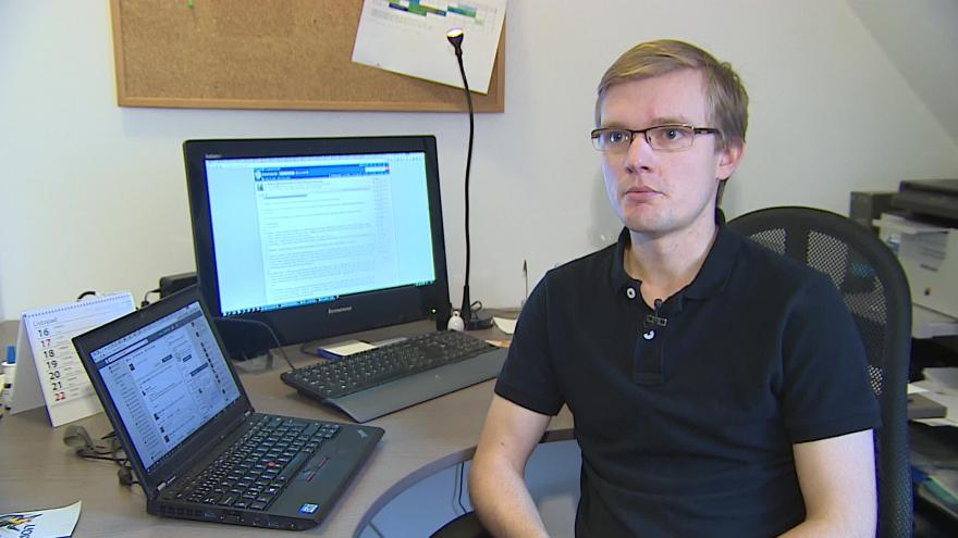Video O dobrovolnické práci hovoří koordinátor Dalimil Petrilák