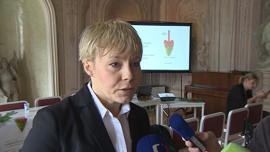 Video Ředitelka TIC Brno Jana Janulíková o vánočních trzích
