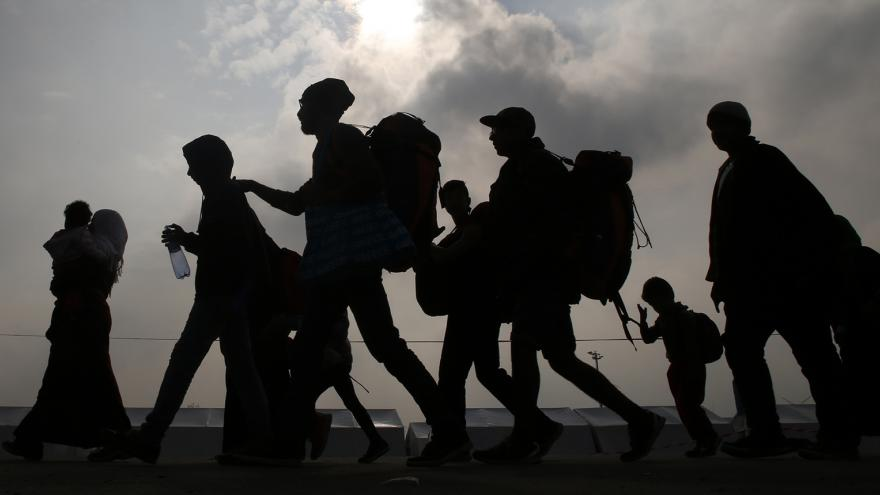 Video Český dobrovolník: Vyklízení řecko-makedonské hranice proběhlo v klidu