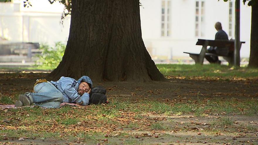 Video Podle odhadů odborníků žije v Praze až 4500 lidí bez domova