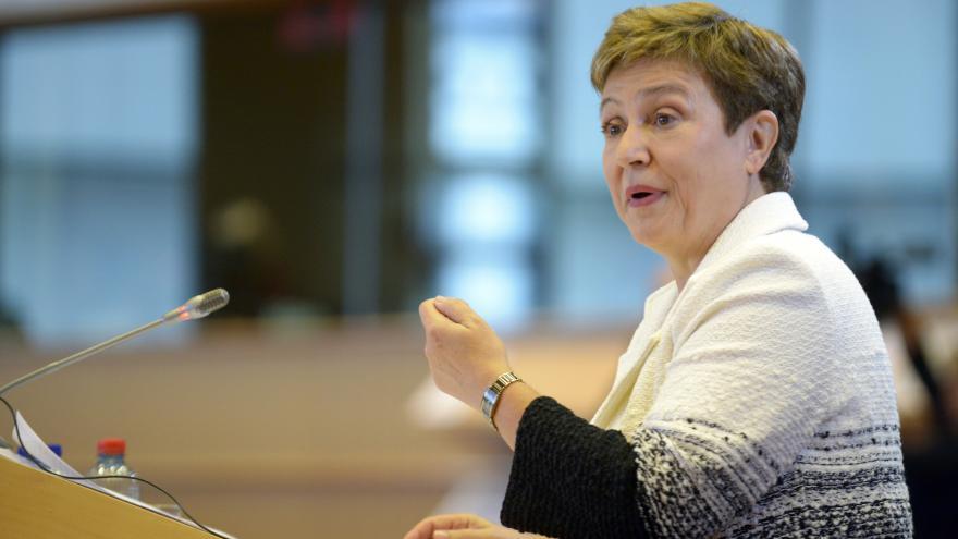Video Přednáška místopředsedkyně Evropské komise Kristaliny Georgievové na VŠE v Praze