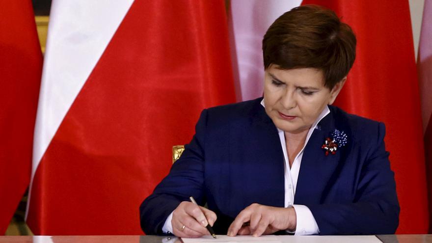 Video Beata Szydlová je měsíc ve funkci