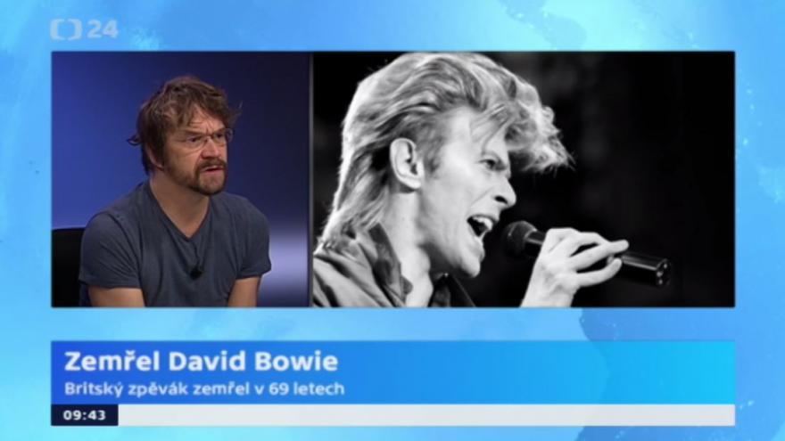 Video Dan Bárta: Bowie byl originální a pevný ve svém názoru