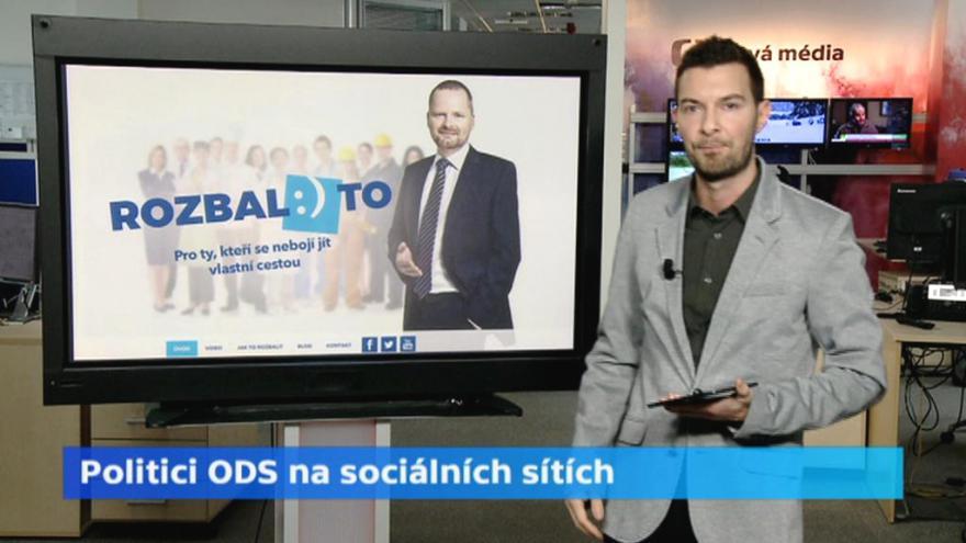Video České politické strany a jejich vztah k sociálním sítím