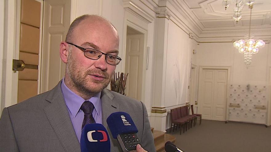 """Video """"Jde o základní princip soudnictví,"""" říká soudce zpravodaj Tomáš Lichovník"""