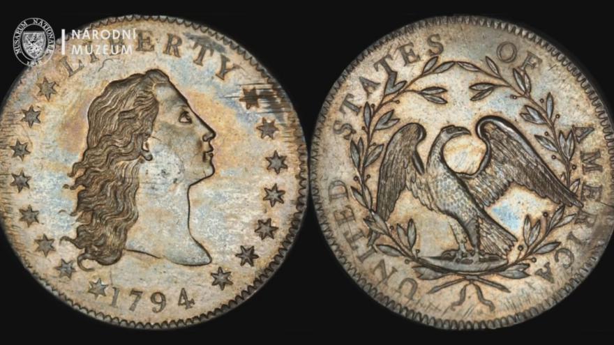 Video Nejdražší mince světa navštívila Národní muzeum