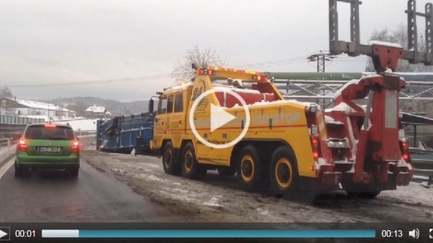 Video Dopravní nehoda v Liberci