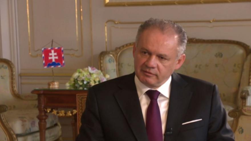 Video Rozhovor Michala Kubala se slovenským prezidentem Andrejem Kiskou