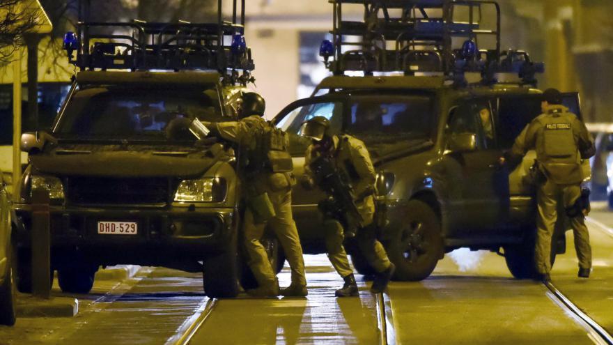 Video Zásah v Bruselu pokračuje