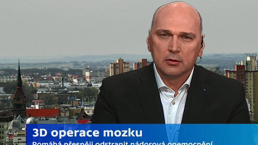Video Tomáš Hrbáč, neurochirurg FN Ostrava