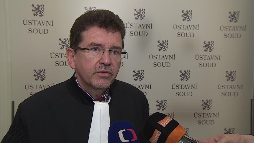 """Video Jaroslav Fenyk: """"Při zajišťování pachových stop se musejí dodržovat stanovené postupy."""""""