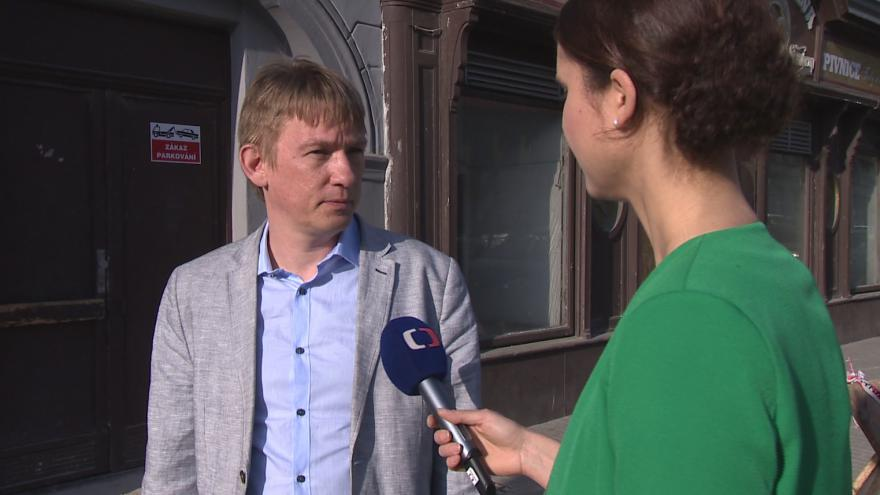 Video Zakladatel projektu Bohuslav Binka vysvětluje, jak bude Symbios fungovat