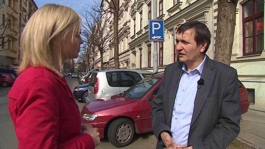 Video Vladimír Bielko hovoří o parkování v Brně