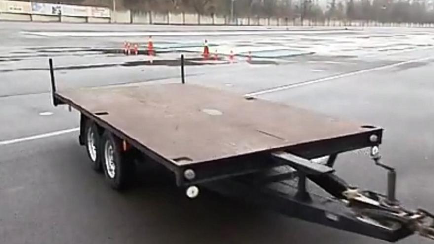 Video Pokuta za přívěsný vozík