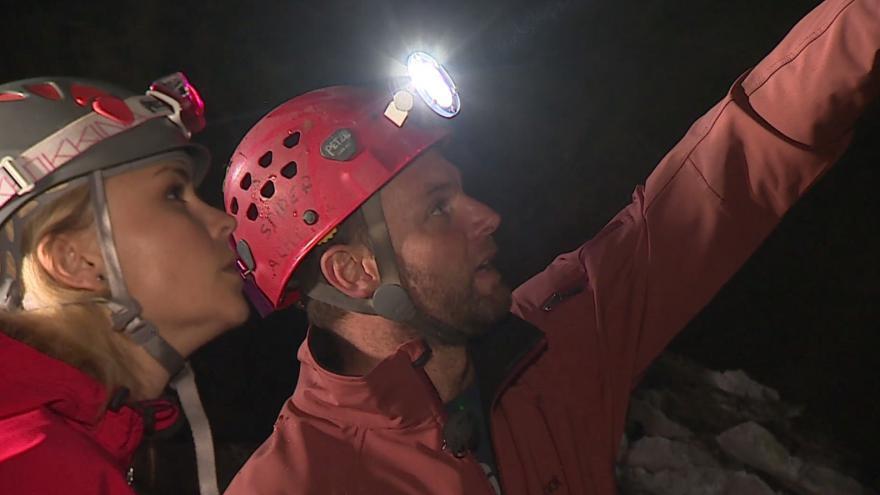 Video Aleš Dočkal ze společnosti Speleoart popisuje feratu v jeskyni Hladomorna