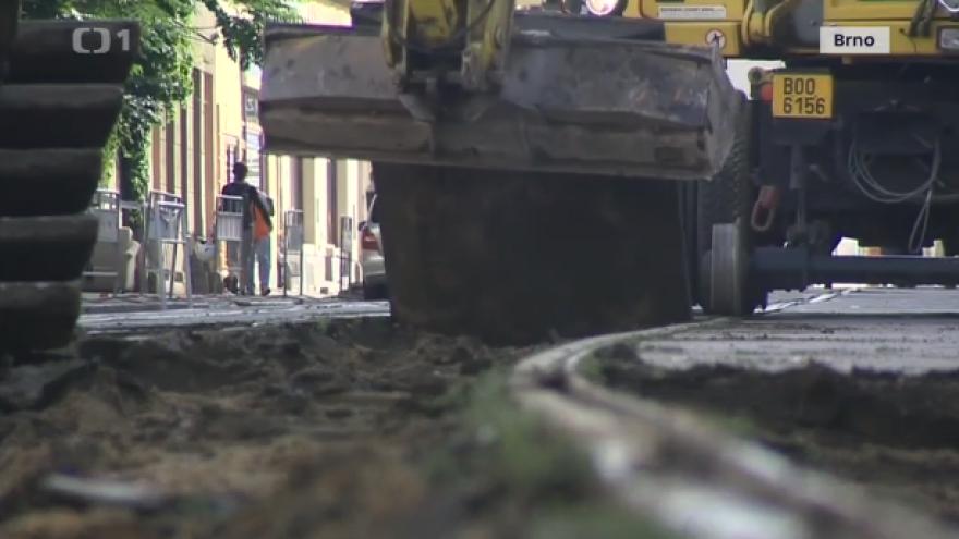 Video Brno čeká přes léto mnoho uzavírek