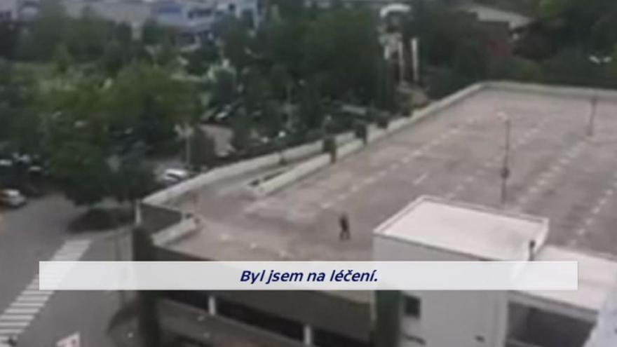 """Video """"Jsem Němec,"""" křičel útočník před střelbou v Mnichově"""