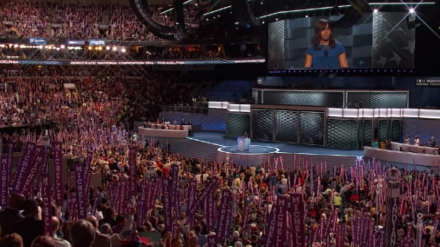 Video Michelle Obamová: Nenechte kohokoliv říkat, že tato země není skvělá