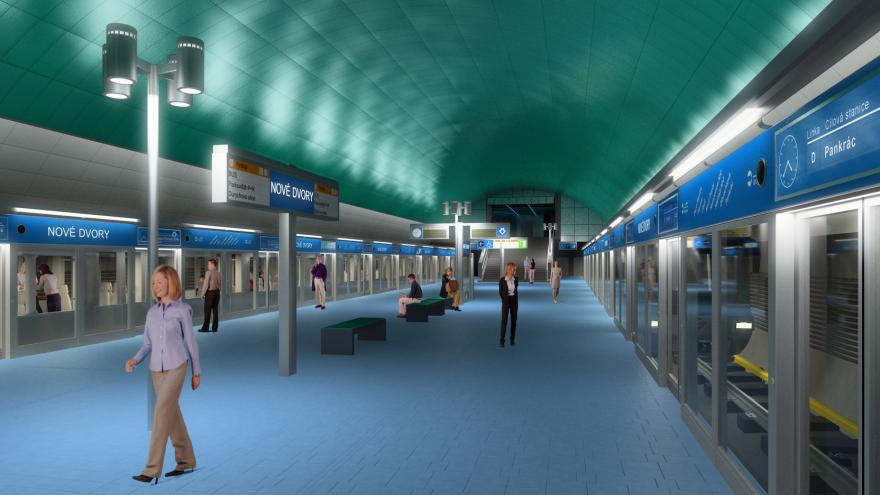 Video Praha musí znovu vypracovat změnu územního plánu metra D