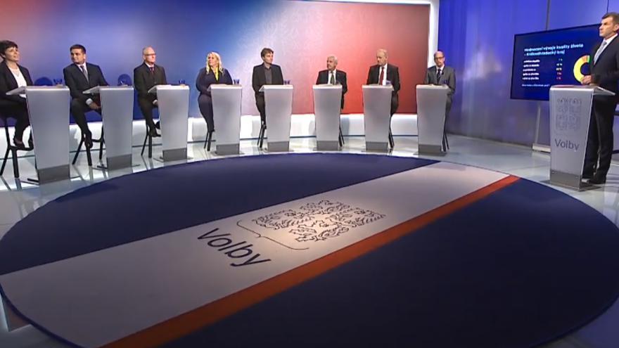 Video Mimořádné pořady ČT24 - Královéhradecký kraj