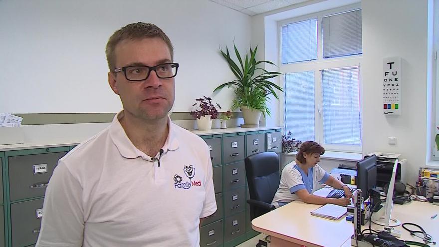 Video O chřipce hovoří praktický lékař Vladimír Marek