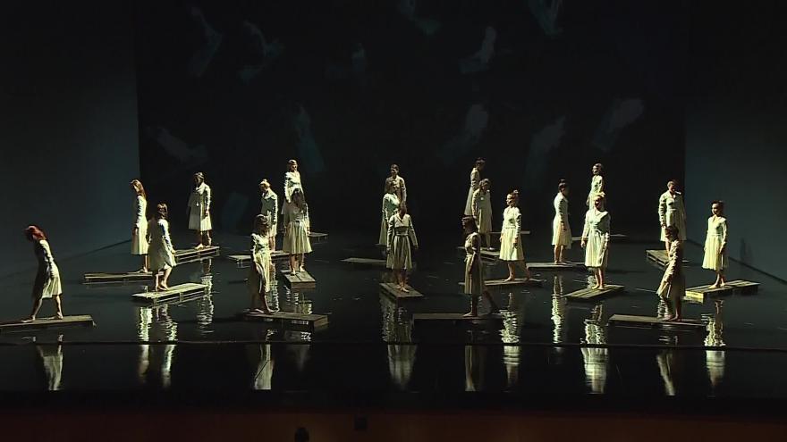 Video Káťa Kabanová je pro herce a tanečníky výzvou