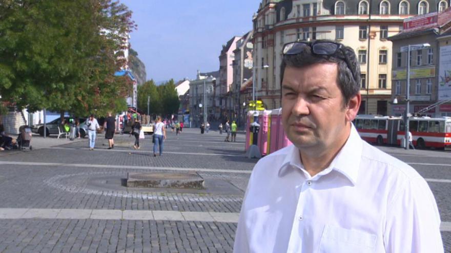 Video Zástupce kandidátky Svobodných a Soukromníků Štefan Drozd