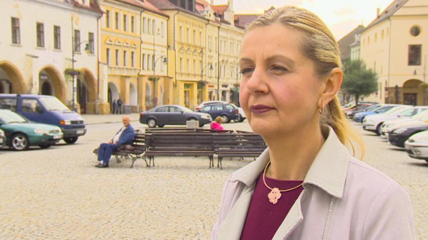 Video Lídryně kandidátky koalice NE ILEGÁLNÍ IMIGRACI - PENÍZE RADĚJI PRO NAŠE LIDI Petra Kotyzová