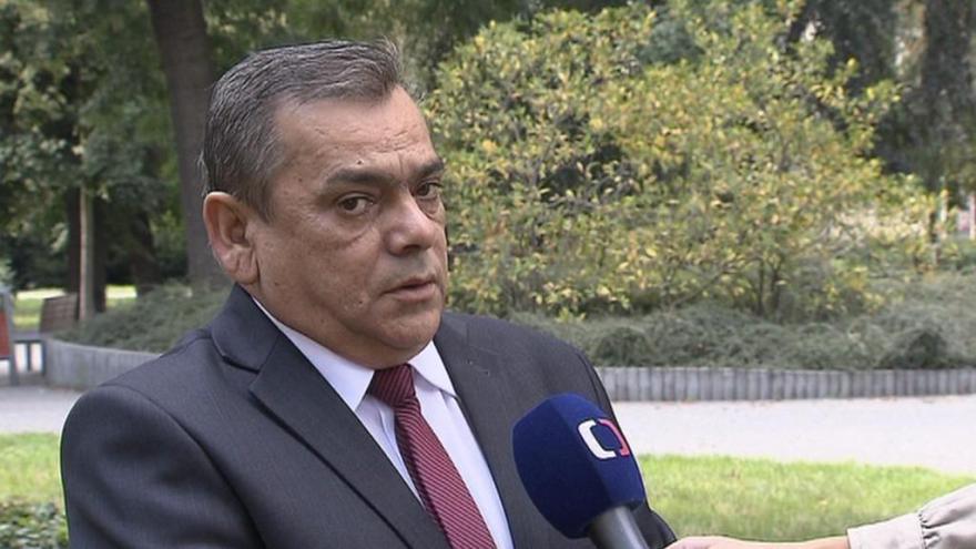 Video Lídr kandidátky Romské demokratické strany Jan Maľar