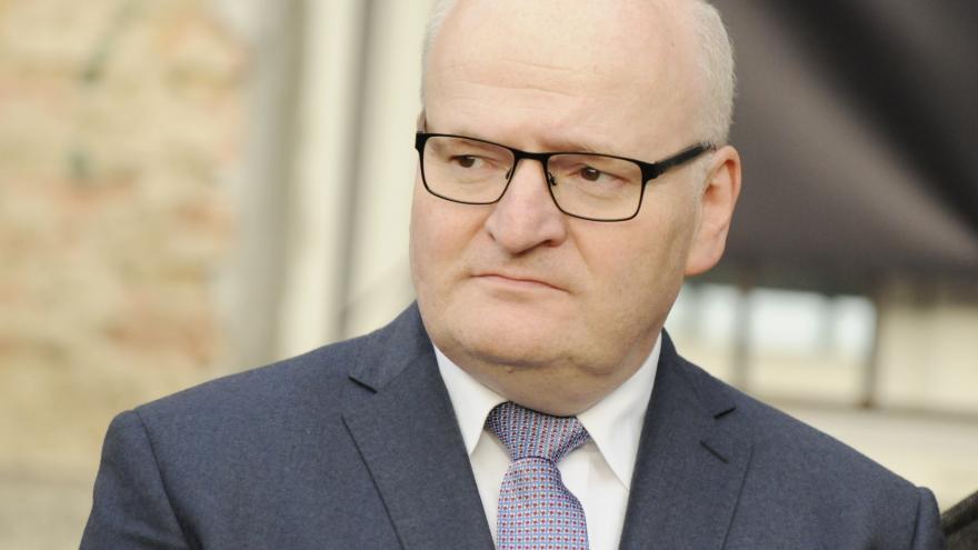 Video ŽIVĚ: Premiér po schůzce s ministrem kultury Danielem Hermanem