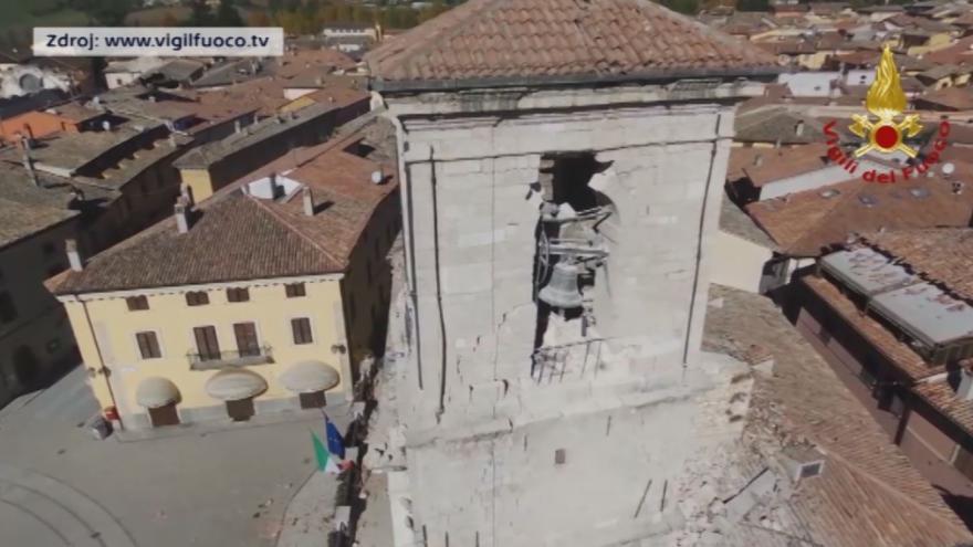 Video NORCIA: Basilica di San Benedetto e palazzo comunale