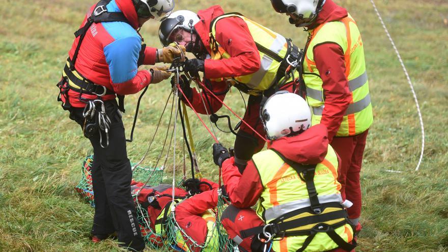 Video Záchranáři soutěžili. V mezinárodním klání na Šumpersku