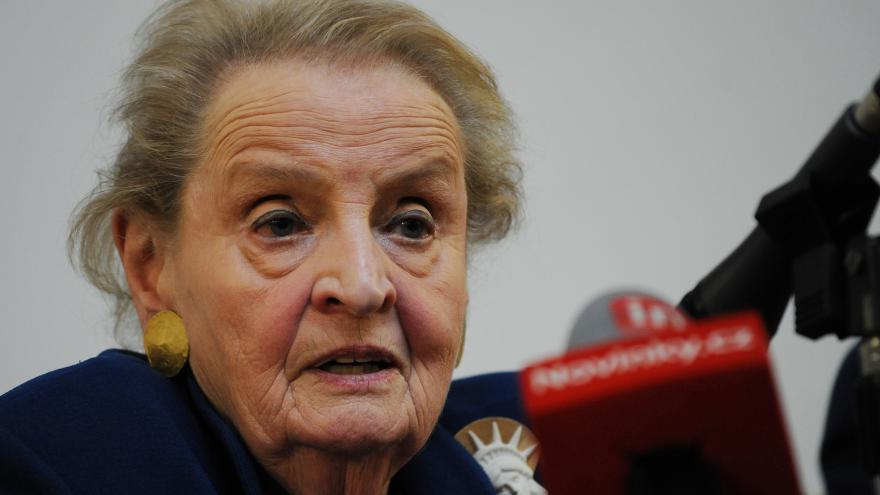 Video Knihovna Václava Havla - S Madeleine Albrightovou o amerických prezidentských volbách