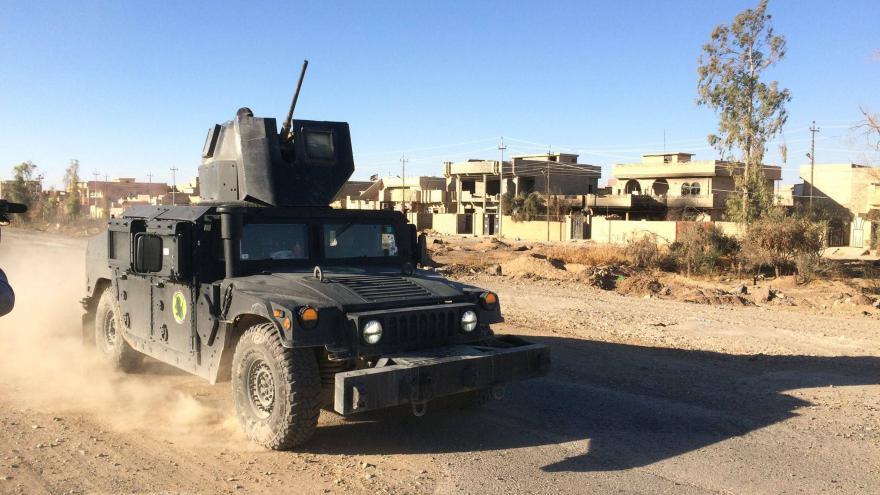 Video Jakub Szántó z iráckého Mosulu