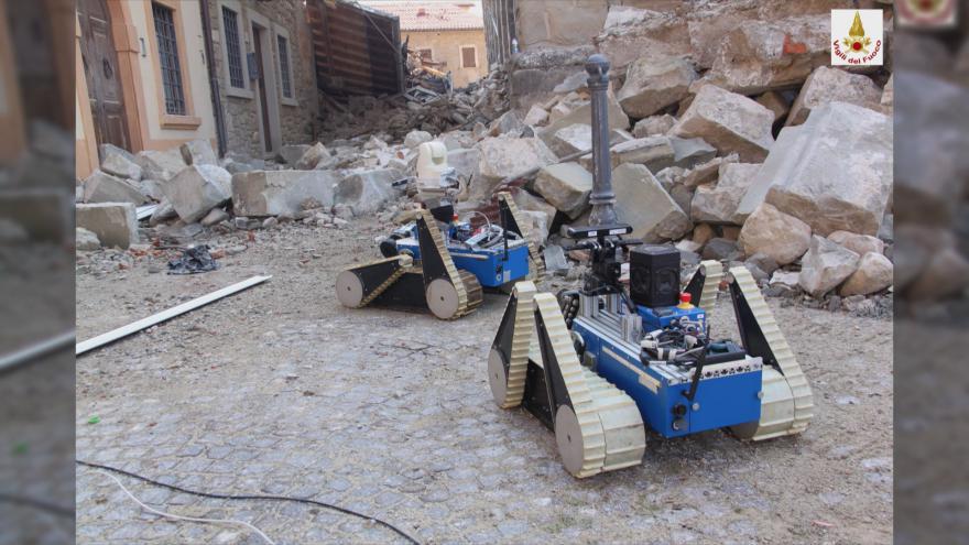 Video Studio 6: Zkoumání poškozených památek roboty