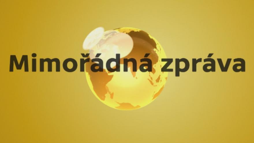 Video Mimořádná zpráva portálu ČT24