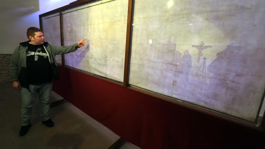 Video Kopie Turínského plátna