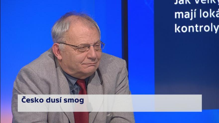 Video 90' ČT24 - Česko dusí smog