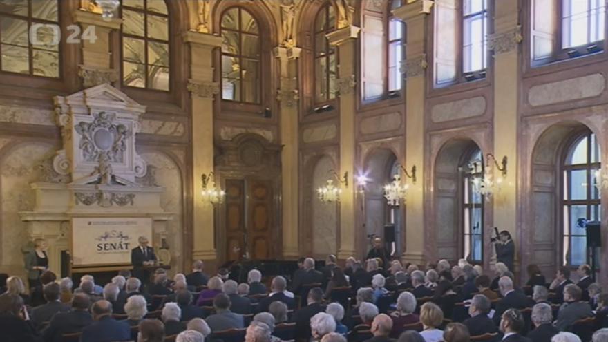 Video Senát: Připomínka obětí holocaustu