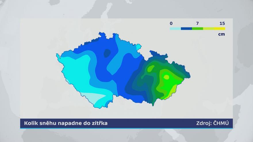 Video Události za okamžik a počasí