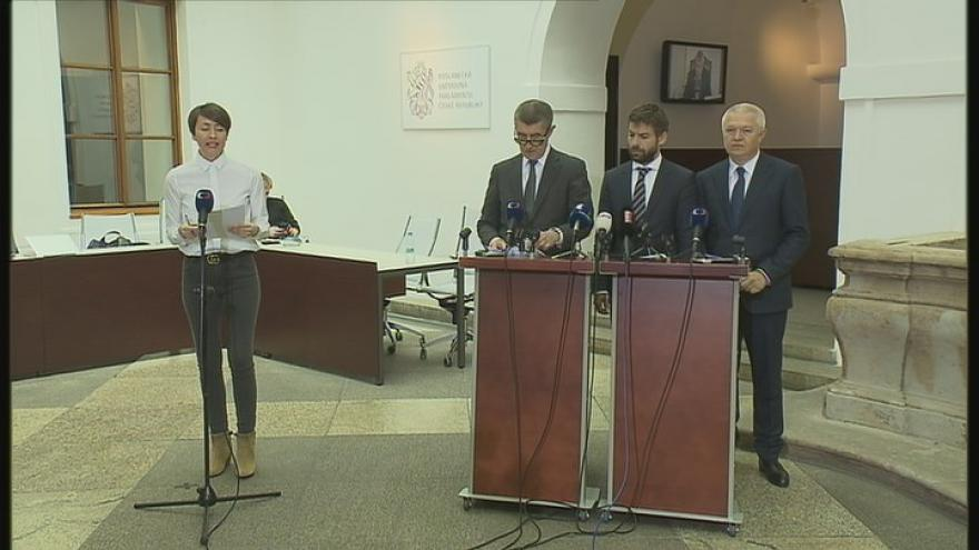 Video Tisková konference ANO k závěrům vyšetřovací komise