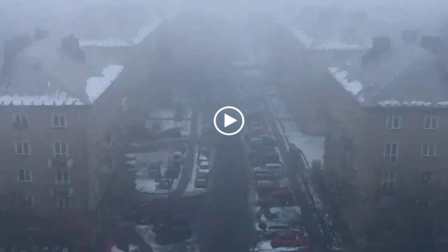 Video iReportér Pavel Netolička: Ranní smog v Ostravě