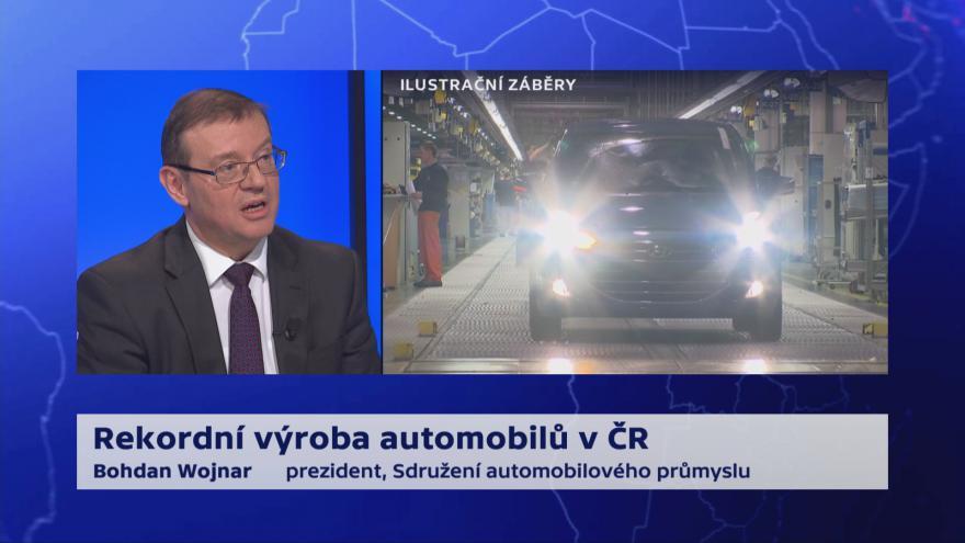 Video 90' ČT24 - Automobilový průmysl v Česku