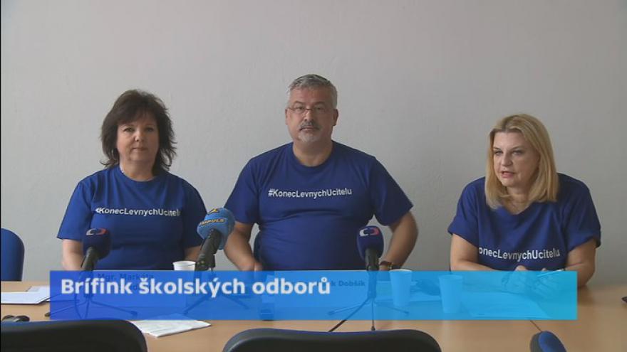 Video Kampaň Konec levných učitelů vstupuje do druhé fáze