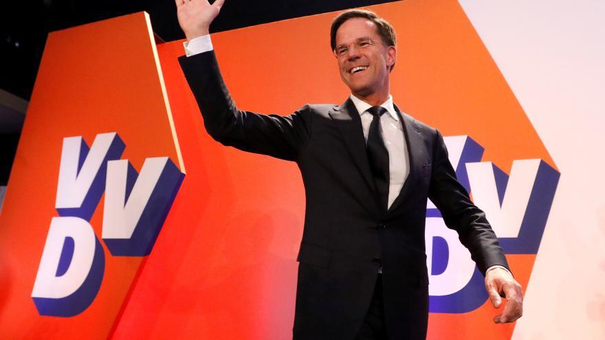 Video Nizozemské volby vyhrál Mark Rutte