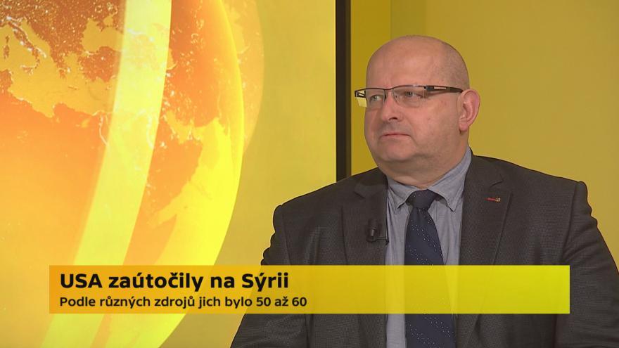 Video Jaroslav Štefec, vojenský analytik