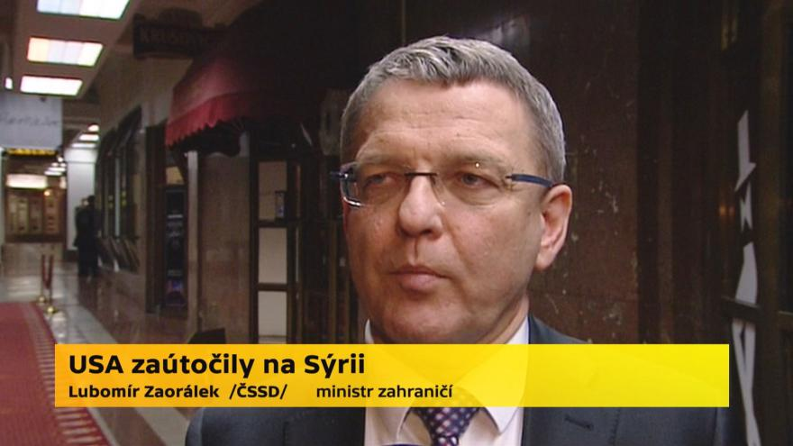 Video Lubomír Zaorálek, ministr zahraničí (ČSSD)