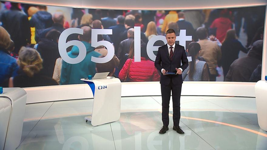 Video 90' ČT24 - Věková hranice pro odchod do důchodu
