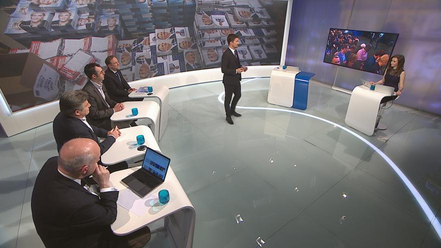 Video Mimořádné pořady ČT24 - Francouzské prezidentské volby